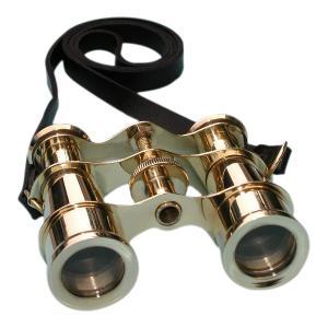 Pocket Brass Binocular