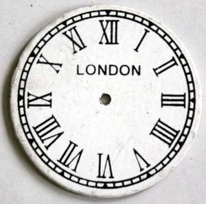 London Aluminium Dial