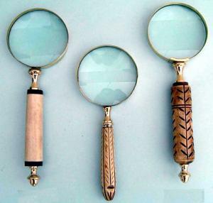 Vintage Antique Magnifying Glasses