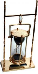 Hanging Hour Glass Send Timer