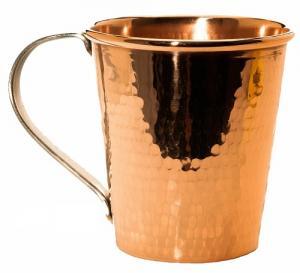 Copper Oval Mug Hammer